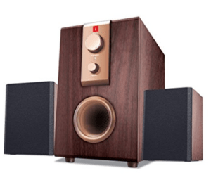 iBall Rhythm 69 2.1 Channel Multimedia Speakers (Wood) at Rs.835