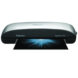 Amazon is selling Fellowes Spectra A4 Laminator for Rs 2590. This Laminator comes with Startup Kit and Auto off feature