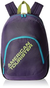 Amazon - Buy American Tourister Jasper 13 ltrs Purple Kids Backpack (5 - 7 years age) at Rs 375 only