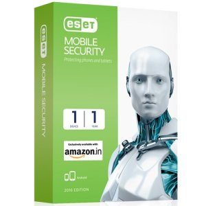 Amazon - Buy ESET Mobile Security for Android 1 Device 1 Year (Voucher) at Rs 99 only