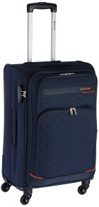 Amazon - Buy Safari Polyester 65 cms Navy Blue Soft-sided Suitcase at Rs 2680 only