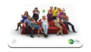 Amazon lightning- Buy Steel Series Qck The Sims 4 Edition- Mouse pad at Rs 99 only