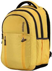 American Tourister AMT 2016 - Encarta Laptop Backpack (Yellow)