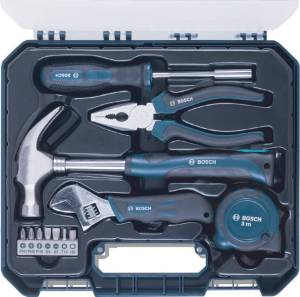 Bosch Power & Hand Tool Kit (12 Tools)