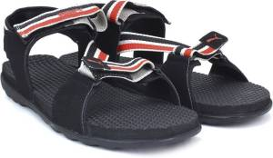 Flipkart - Buy Puma Men Puma Black-Limestone-High Risk Red Sports Sandals at Rs 496 only