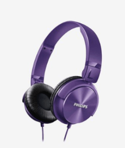Philips Dynamic SHL3060PP Over Ear Headphone (Purple) at rs.499