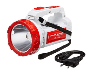 Rock Light RL-140 5-Watt Rechargeable LED Torch (Color May Vary) at rs.189