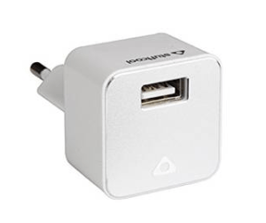 STUFFCOOL 1A UNO WALL CHARGER (WHITE) at Rs.94 only