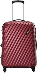 Skybags Polycarbonate 75 cms Red Hard Sided Carry-On (VELDL75TMCD)