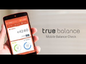 True Balance app- Get 20% cashback on Recharge of Rs 50 or more (Max Rs 20)