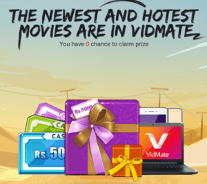 vidmate app invite friends and get paytm cash