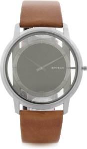 Flipkart- Buy Titan 1577TL02 Edge Analog Watch - For Men for Rs 8182 only