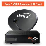 Amazon- Get Rs 200 Amazon voucher on Dish TV HD