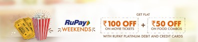 Bookmyshow - Get Flat Rs 100 off on movie
