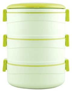 Cello Amaze Insulated 3 Container Lunch Carrier, Green at rs.374