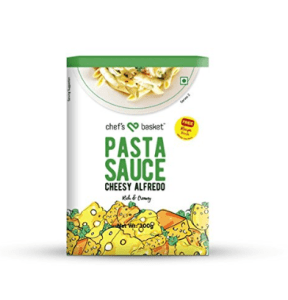 Chef's Basket Cheesy Alfredo Pasta Sauce, 300g at rs.86