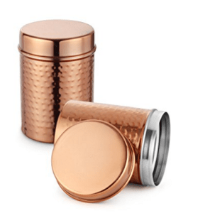 Amazon – Buy Classic Essentials Copper Storage container set of 2 at Rs.215 only
