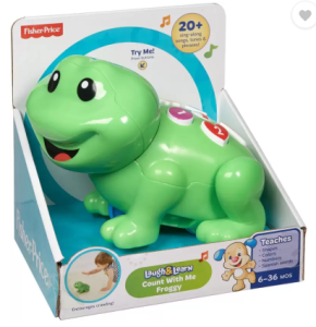 Fisher-Price LL COUNT WITH ME FROGGY (Green) at rs.683