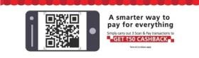 Kotak- Get Rs 50 cashback on 3 Scan & Pay transactions
