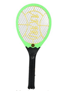 Spartan SPMR-03 rechargeable Bet Mosquito racket With Led Torch (multicolor) at rs.269