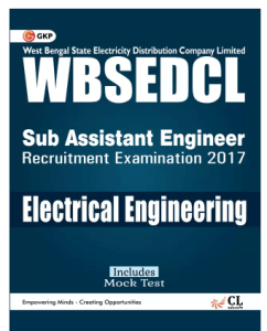 WBSEDCLWest Bengal State Electricity Distribution Company Limited Electrical Engineering (Sub Assistant Engineer) (English, Perfect Binding, GKP) at rs.38