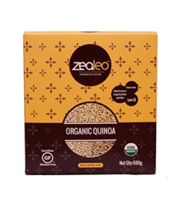 Zealeo Quinoa Organic, 500g at rs.288