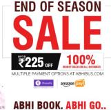 Abhibus- Get upto Rs 225 Off on Bus ticket Booking
