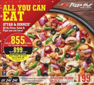 Pizza Hut Iftar Deal 2014 Ramadan in Pakistan