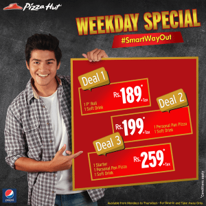 Pizza Hut Weekday Special Deals