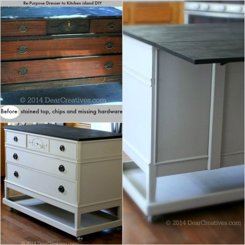 Medium Of Making Kitchen Island From Cabinets