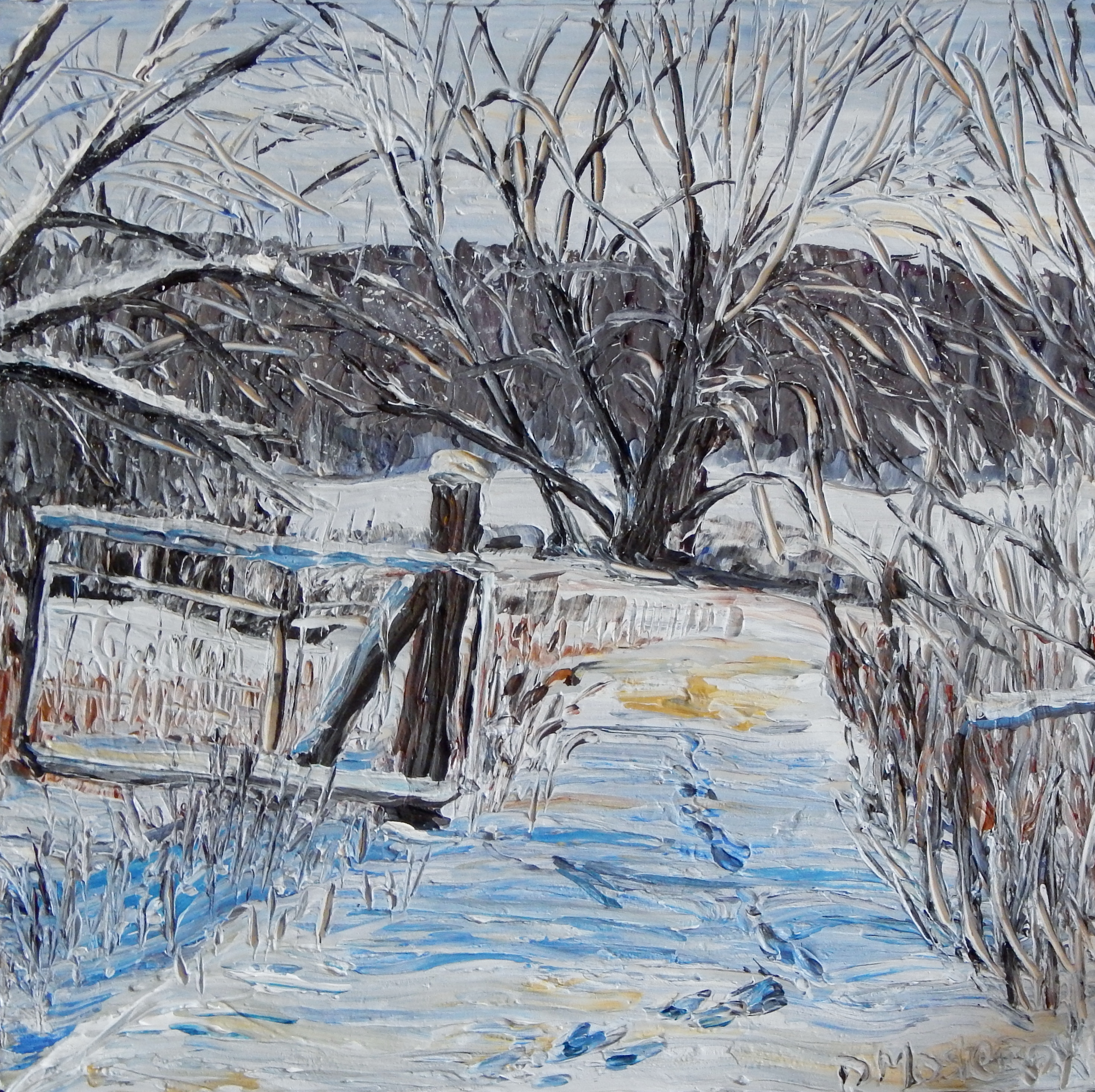 The Winter Gate – SOLD