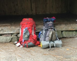 Day 25: ready to hoist the packs for the last time and start applying Lessons From the Long Trail at home.