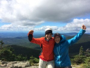 Overcoming resistance with presence - at the summit of Killington