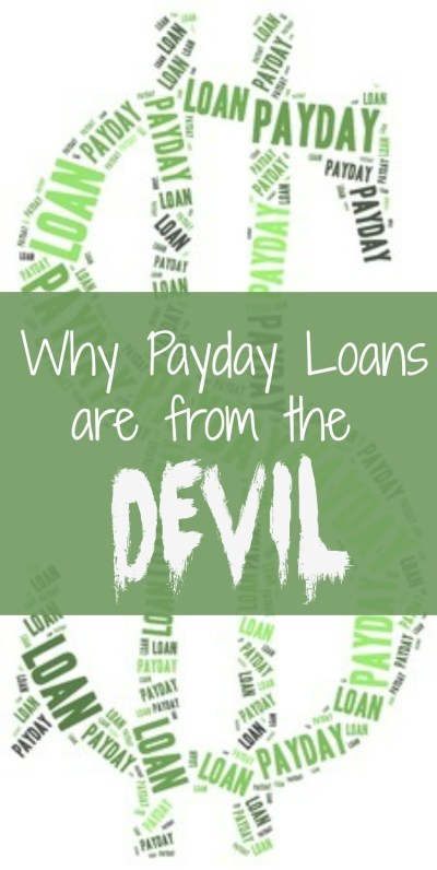 Why Payday Loans are a Bad Idea