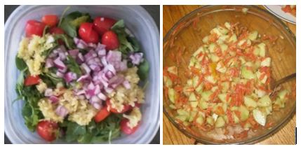 Salads With Ferments