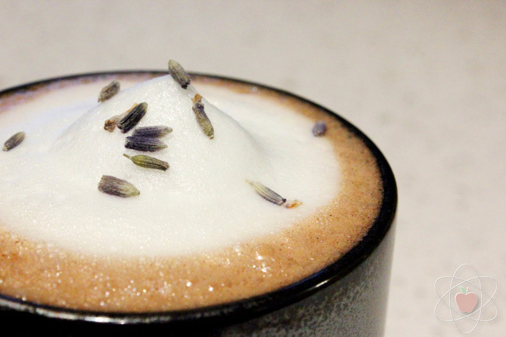 Lavender hot chocolate WM