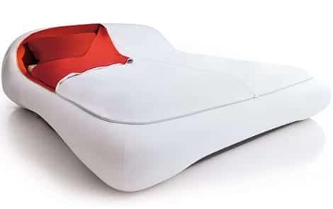 zip bed florida 1 Cama de diseño minimalista... con cremallera