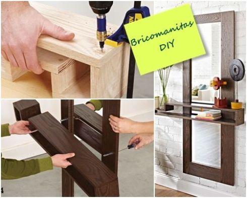 Diy mueble funcional para decorar la entrada de casa - Mueble entrada casa ...