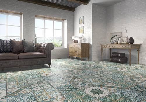 Tendencias en revestimientos qu baldosas y azulejos - Pavimentos rusticos para interiores ...