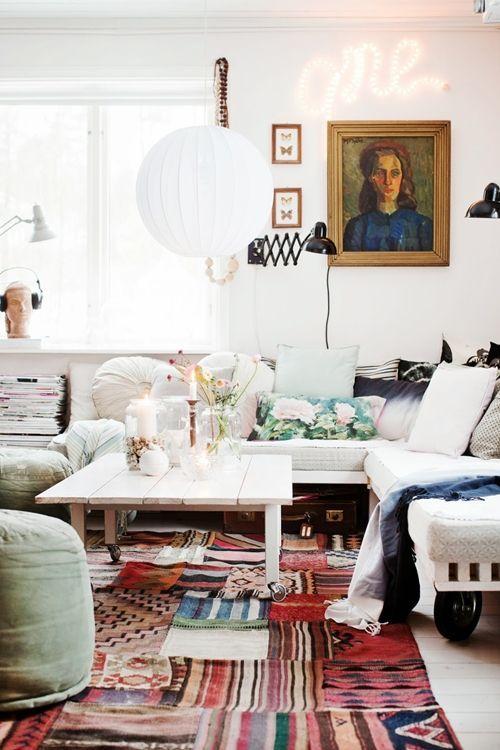 Decoraci n vintage con r tulos luminosos para la casa - Decoracion vintage casa ...
