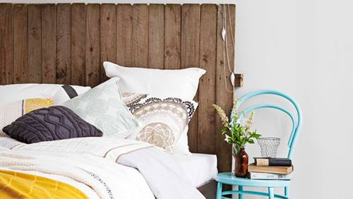 Cabeceros de cama originales decomanitas for Decorar reciclando muebles
