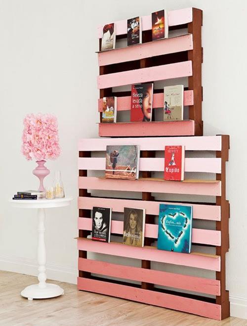 10 muebles con palets para decorar reciclando decomanitas - Palets para muebles ...