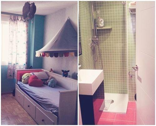 Casas con encanto piso pequeño con decoración boho chic singular 11