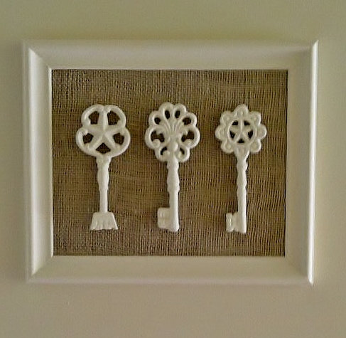 framed keys