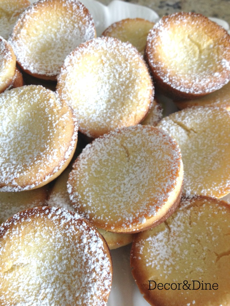 orange milk tarts