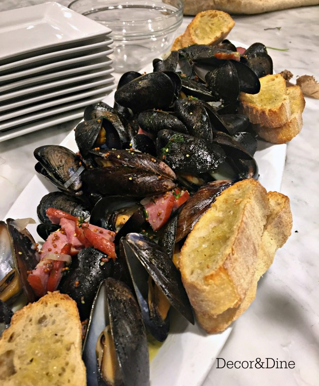 Mussels, Dish Cooking Studio