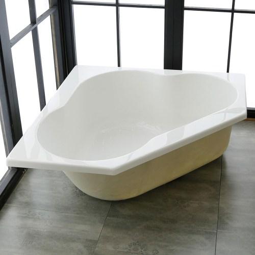 Medium Of Drop In Bathtub