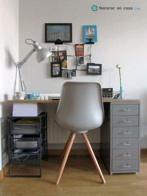 C mo hacer un escritorio small low cost decorar mi casa for Escritorio low cost