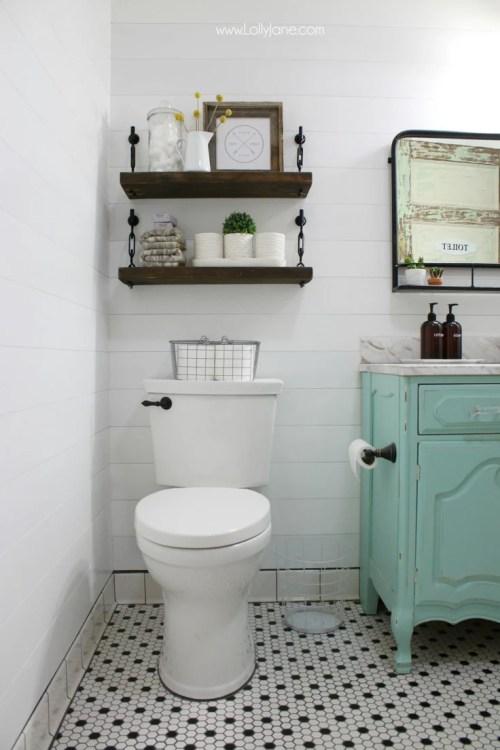 Medium Of Homemade Shelves For Bathroom