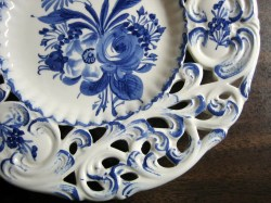 Small Of Blue Rose Pottery
